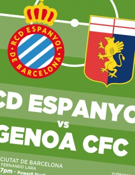 Cartellería RCD Espanyol – XL Ciutat de Barcelona