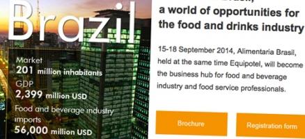 Newsletter Alimentaria Brasil