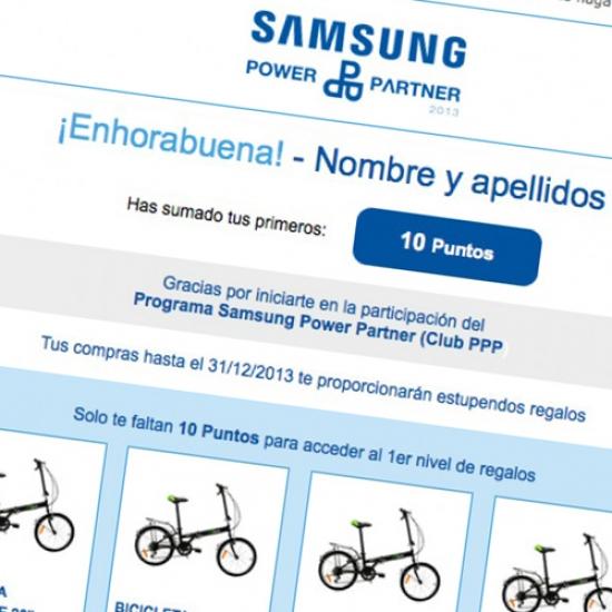 Newsletter Samsung