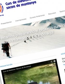 Web Curs de Medicina i Socors de Muntanya