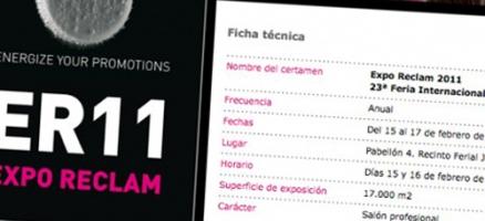 Web catálogo ExpoReclam 2011