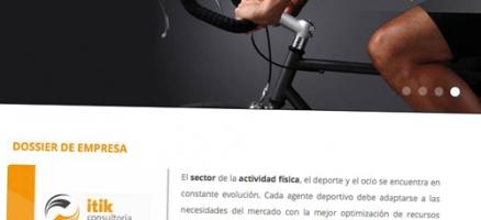 Web Itik Consultoría del Esport y el Lleure
